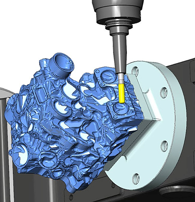 mastercam 3+2 machining