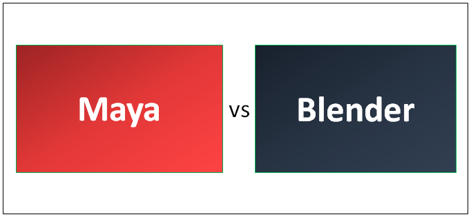 Maya vs Blender