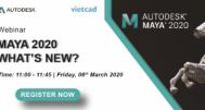 [Workshop] Maya 2020 What's new?